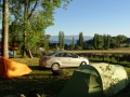 8 campoing at lago ranco